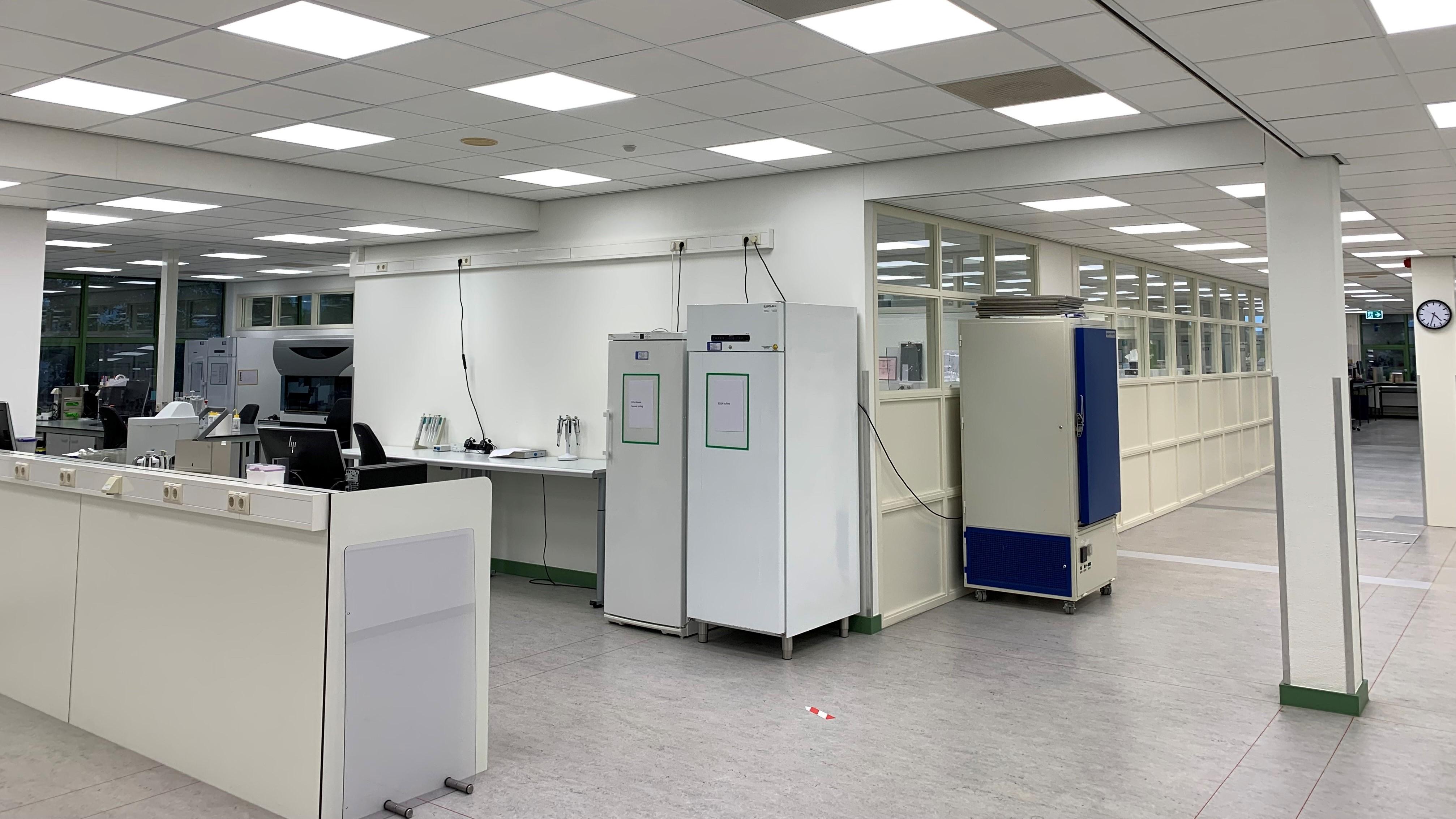 Verbouwing laboratoria afgerond